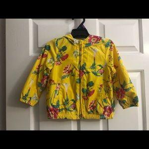 GAP girls windbreaker jacket